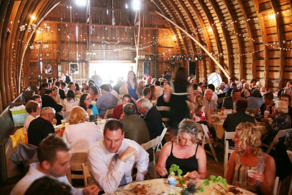 Wisconsin Farm & Barn Country Wedding - Rustic Wedding Chic