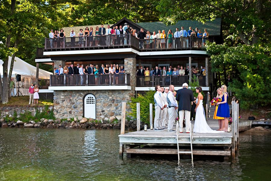 Lakeside Rustic Wedding Chic