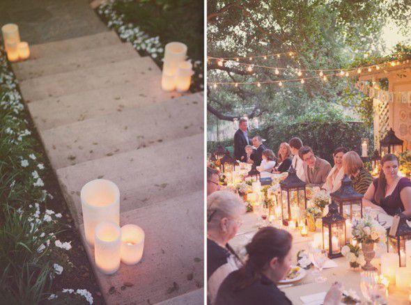 Backyard Rehearsal Dinner Ideas Rustic Wedding Chic