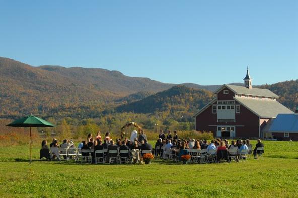 New England Wedding Venues For Each Season - Rustic ...