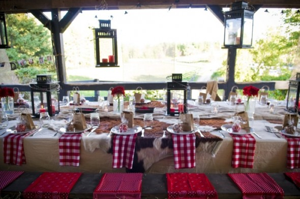Backyard rehearsal dinner ideas rustic wedding chic for Backyard bbq decoration ideas