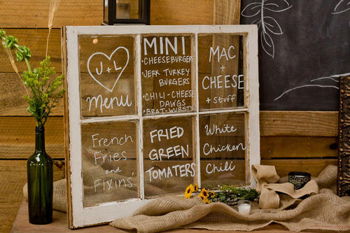 window-wedding-menu