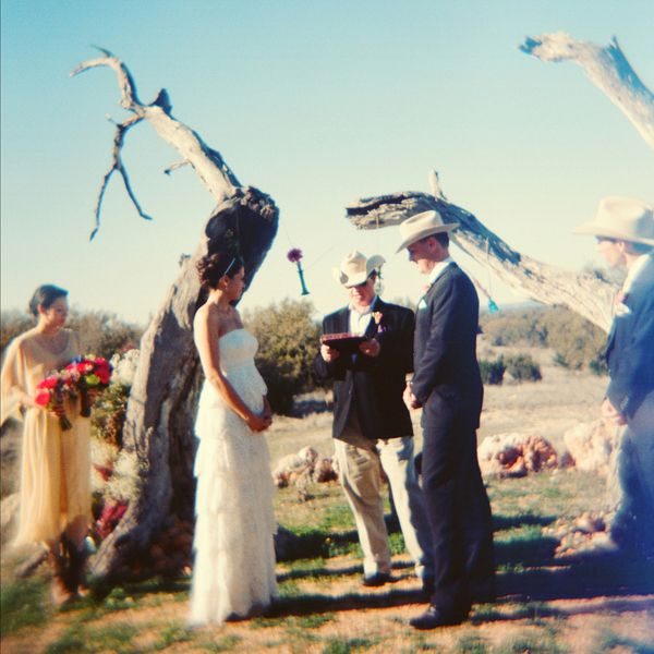 Rustic Wedding At Three Points Ranch