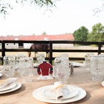 Horse Farm Wedding Reception