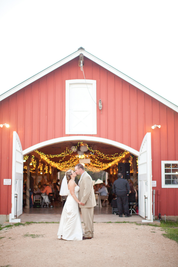Texas Hill Country Rustic Barn Wedding