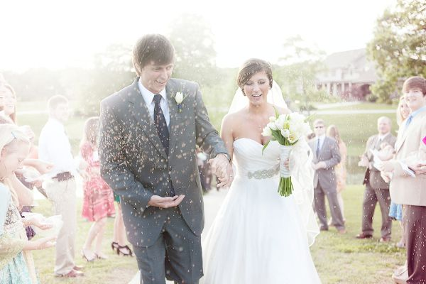 Southern Vintage Chic Wedding