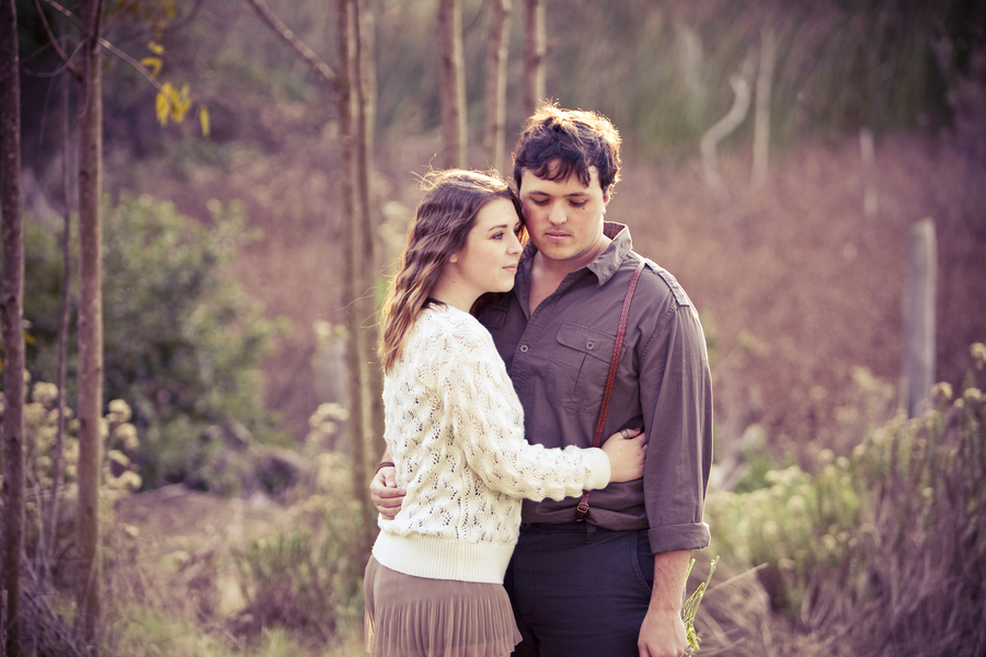 Rustic Chic Engagement Session