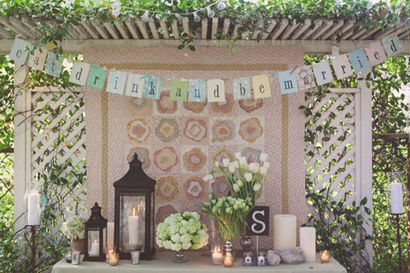 Outdoor Country Wedding Shower Ideas: Vintage Style Bridal Shower Ideas