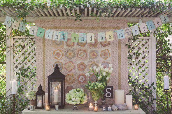 Vintage Themed Bridal Shower