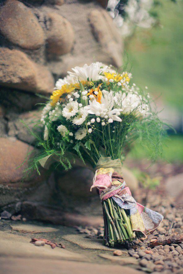 Wildflower Wedding Bouquets - Rustic Wedding Chic