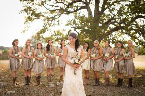 rustic-chic-bridesmaid-dresses