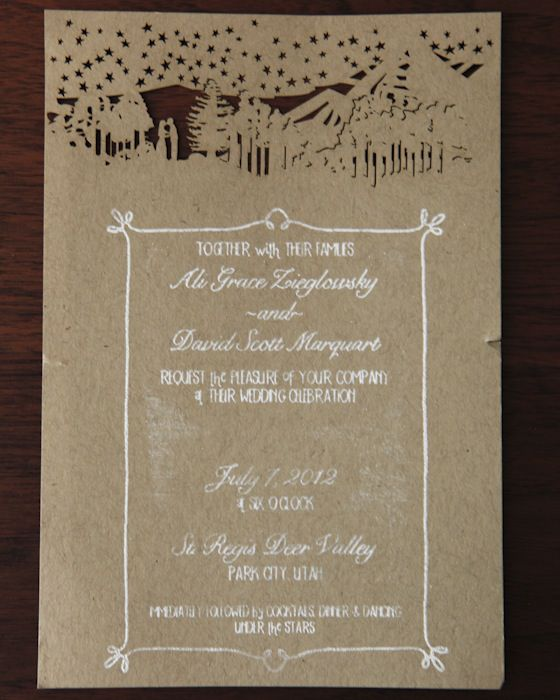 Creating A Rustic Wedding Invitation Rustic Wedding Invitations