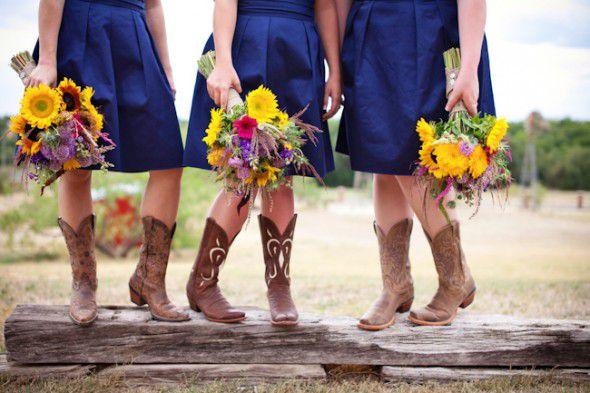 Wildflower Wedding | Wildflower Wedding Bouquets Rustic Wedding Chic
