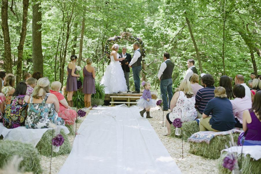 Do It Yourself Outdoor Wedding Ideas Outdoor Weddings Do: DIY Country Style Wedding