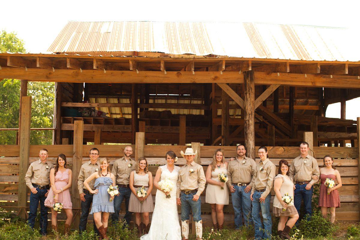 East Texas Ranch Wedding