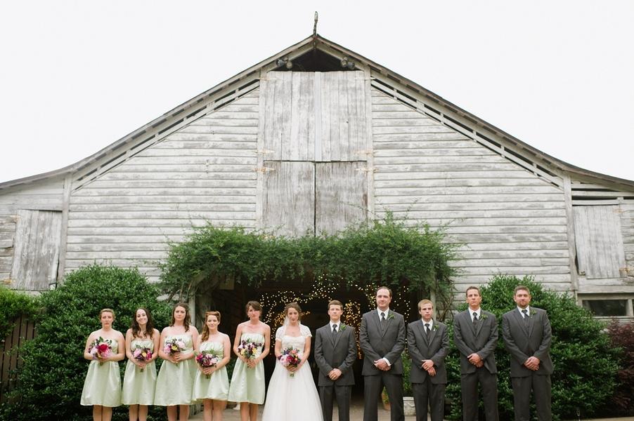 Chapel Hill North Carolina Rustic Farm Wedding