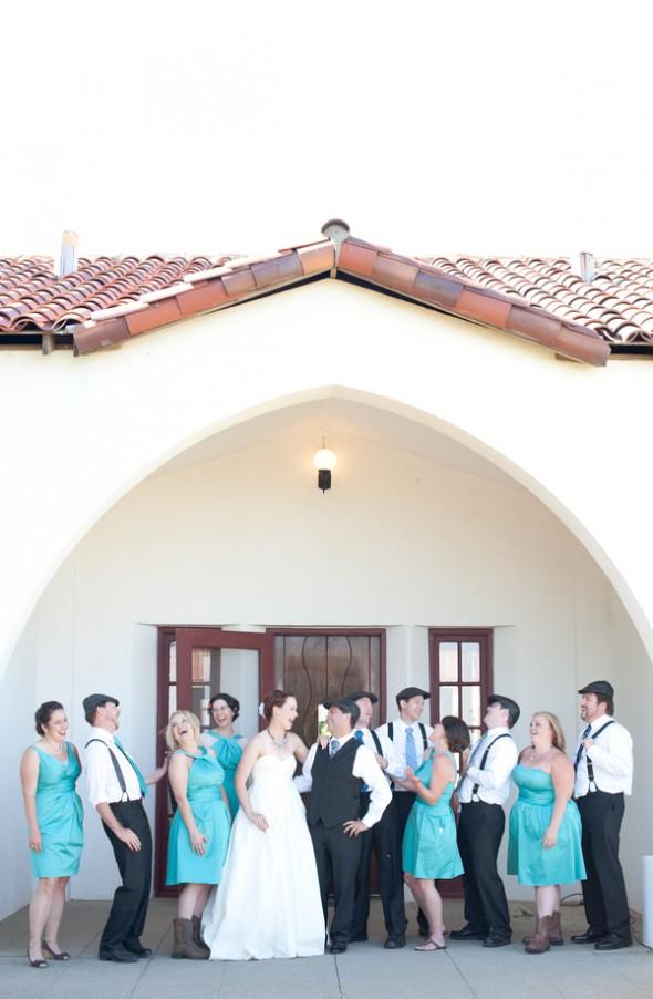 turquoise-Bridesmaid-dresses