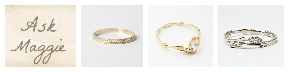 Rustic vintage style wedding rings rustic wedding chic vintage style wedding rings ask maggie rustic wedding chic junglespirit Image collections
