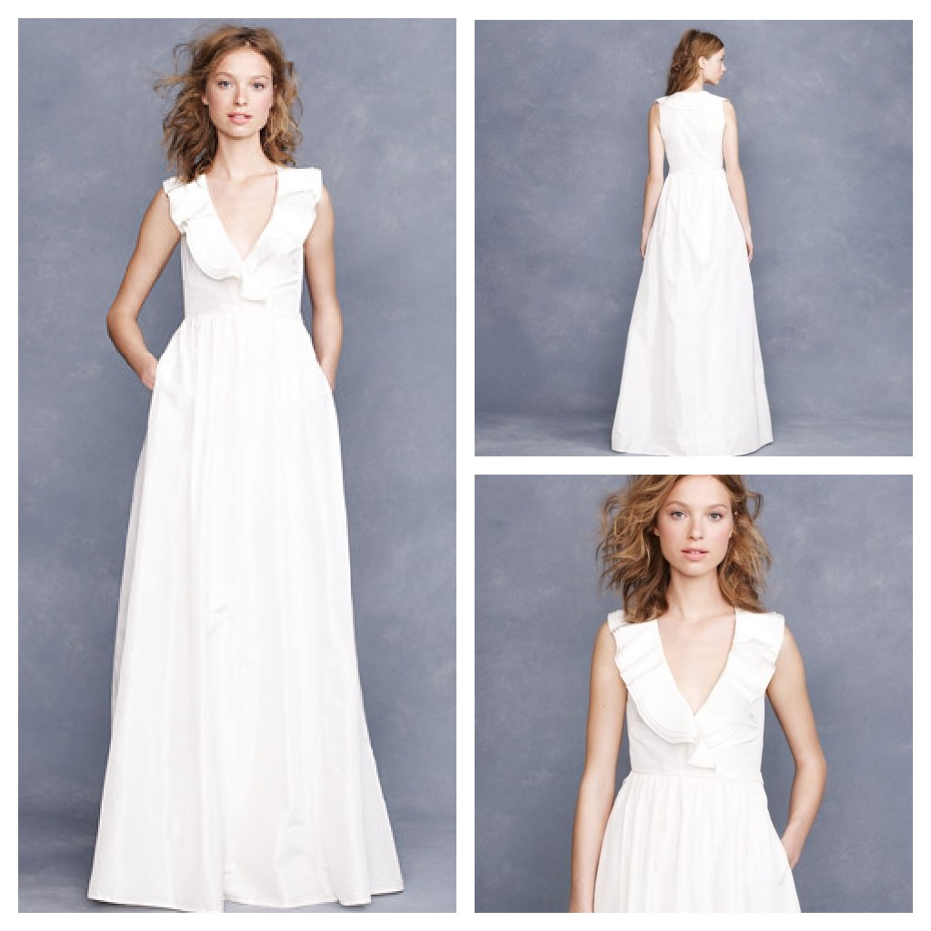 Pictures Of Gowns For Wedding: J.Crew Wedding Gowns For A Rustic Wedding