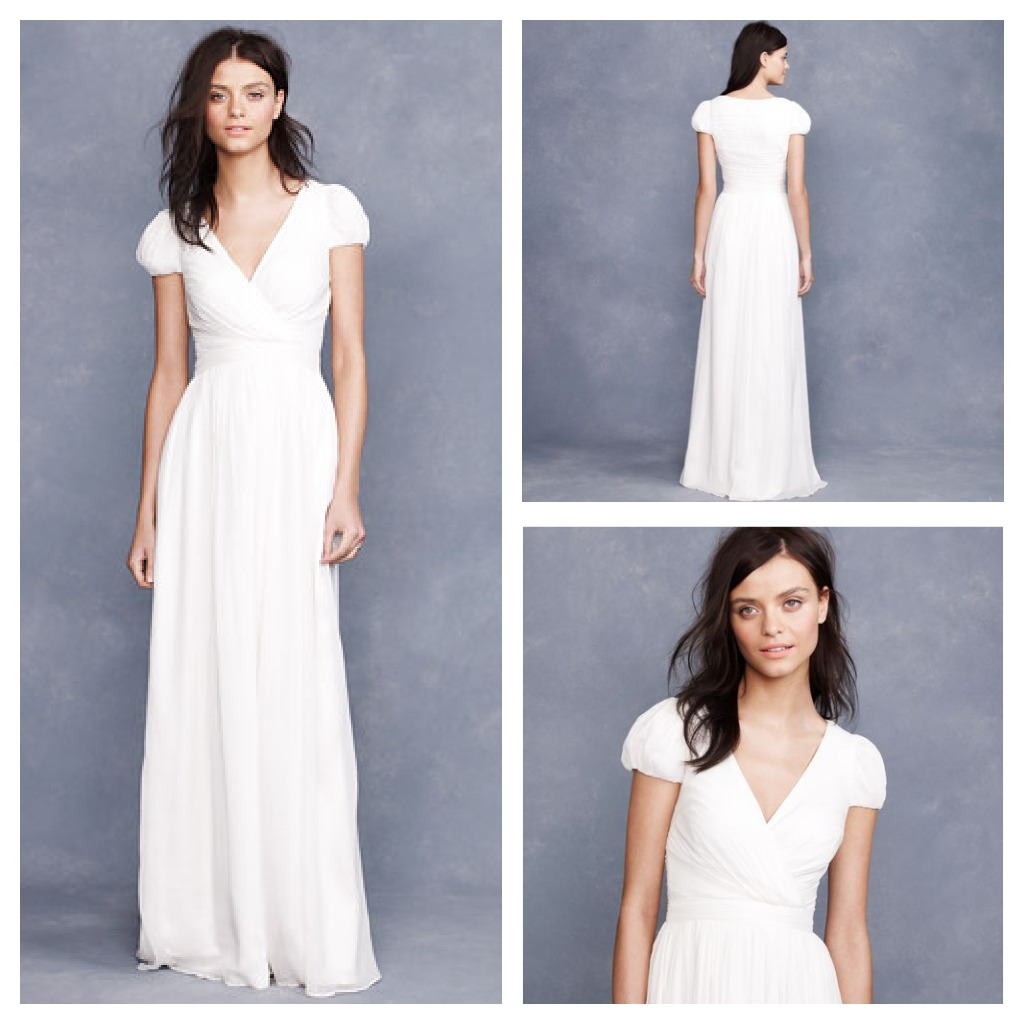 J.Crew Wedding Gowns For A Rustic Wedding