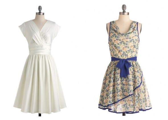 Vintage chic wedding dress : Style bridesmaid dresses for a vintage wedding rustic chic
