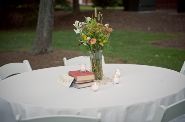 Simple Country Wedding Table Decorations: Simple rustic wedding ...