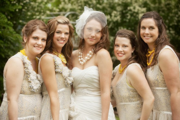 champagne-bridesmaid-gowns