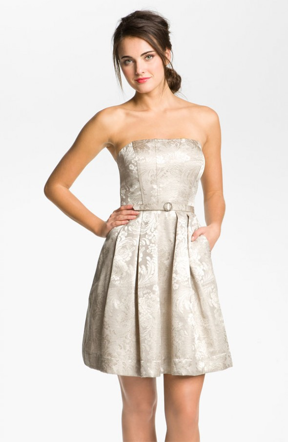 champagne-bridesmaid-gown