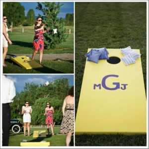 Ask Maggie: Lawn Games For Backyard Wedding