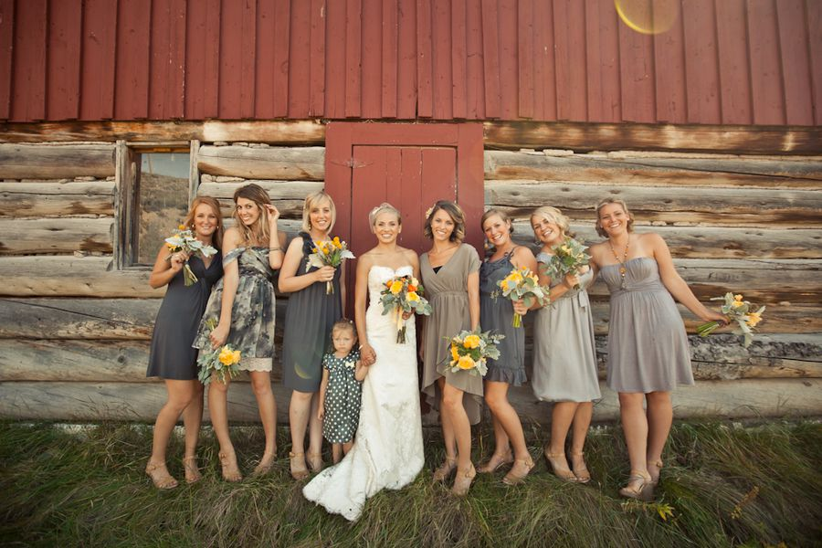 grey-bridesmaid-dresses