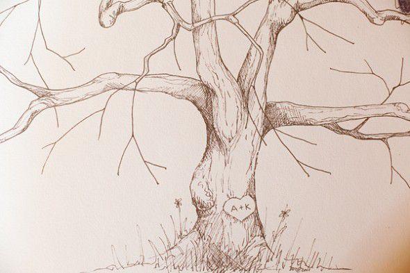 tree-wedding-guestbook