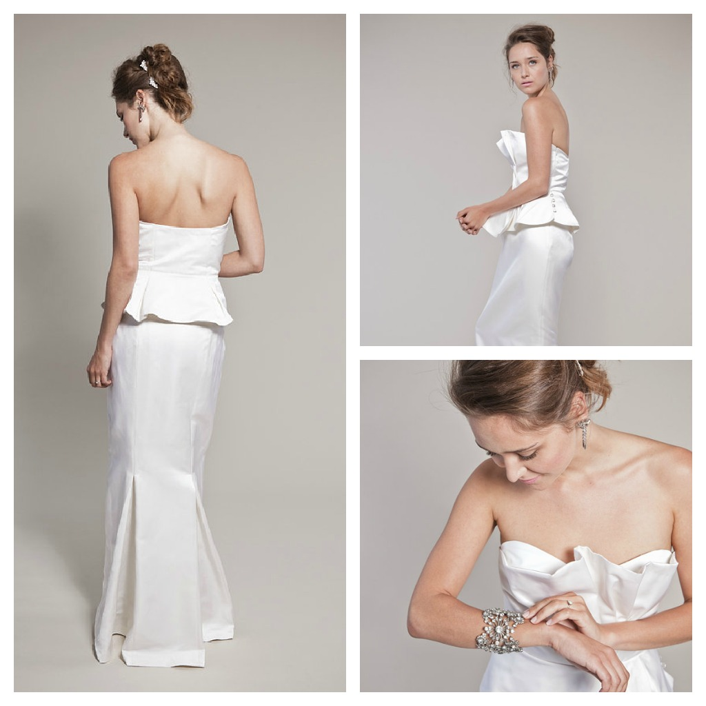 Trumpet Style Wedding Gowns: Winifred Bean Wedding Gowns