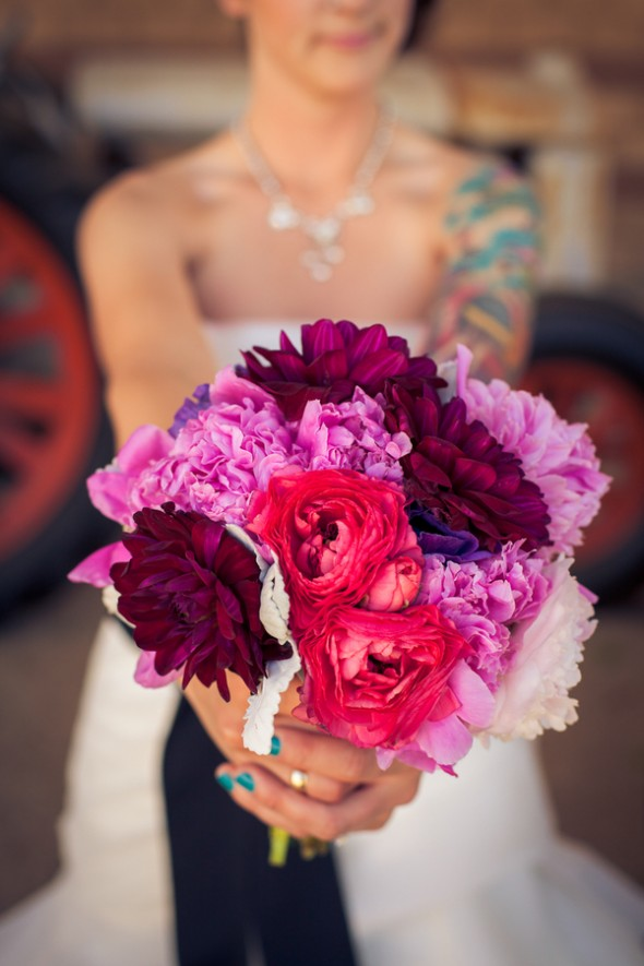 dark-pink-bouquet