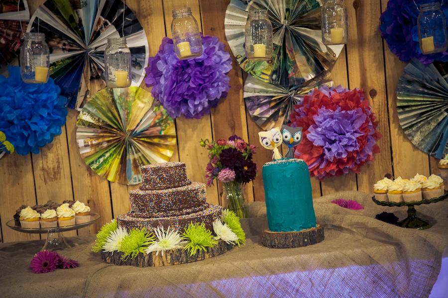Los Angeles Rustic DIY Wedding Rustic Wedding Chic