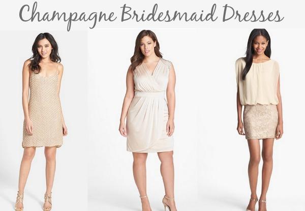 Champgane Bridesmaid Dress
