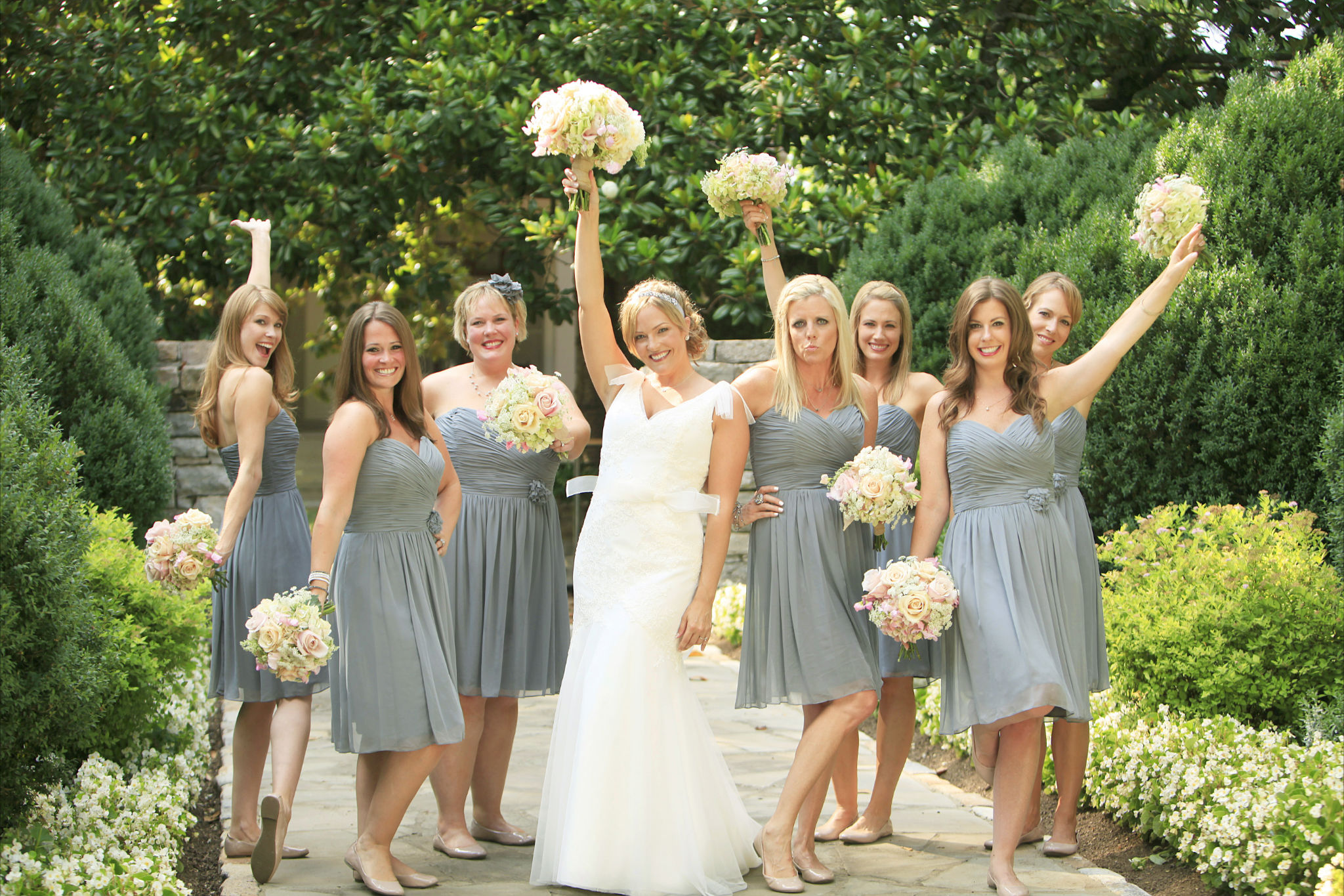 Southern vintage nashville wedding rustic wedding chic for Bridesmaid dresses for a rustic wedding