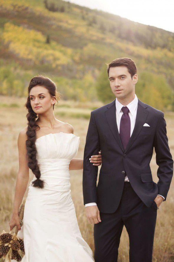 elegant-rustic-wedding-couple