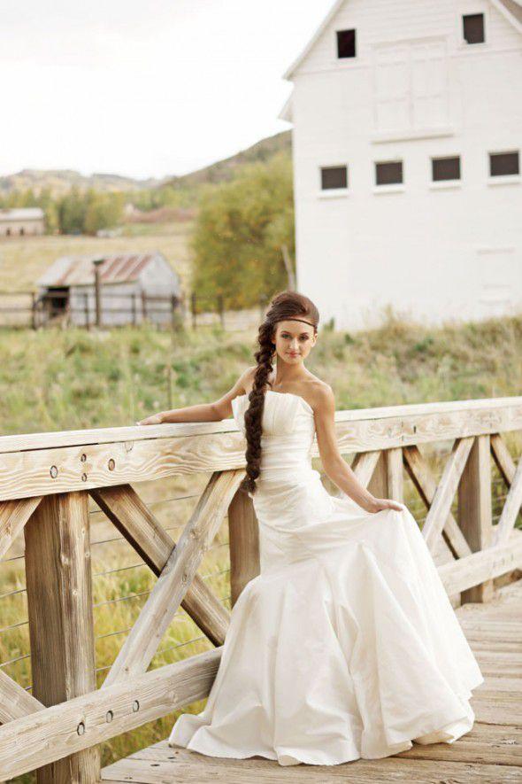 rustic-bride-in-utah