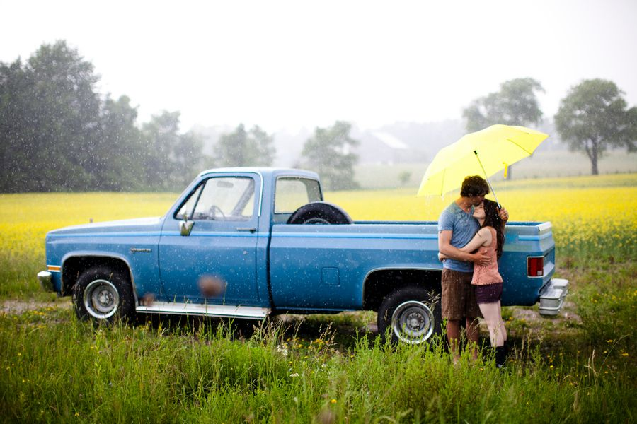 Country Chic Engagement Session