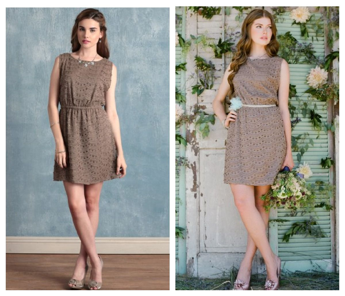 Bridesmaid Dresses For A Vintage Wedding - Rustic Wedding Chic