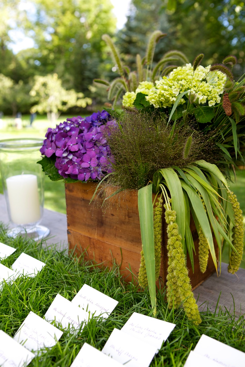 Centerpieces for a rustic wedding chic