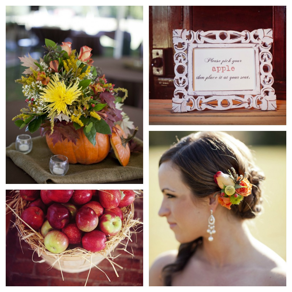 Fall Wedding Ideas For A Rustic Wedding - Rustic Wedding Chic