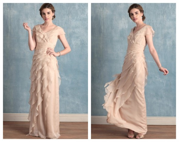 Chic Vintage Wedding Dresses : Vintage style wedding gowns on a busget rustic chic