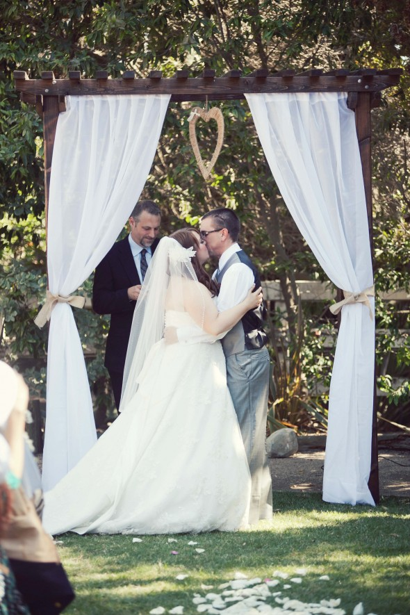 Outdoor Orange County California Wedding
