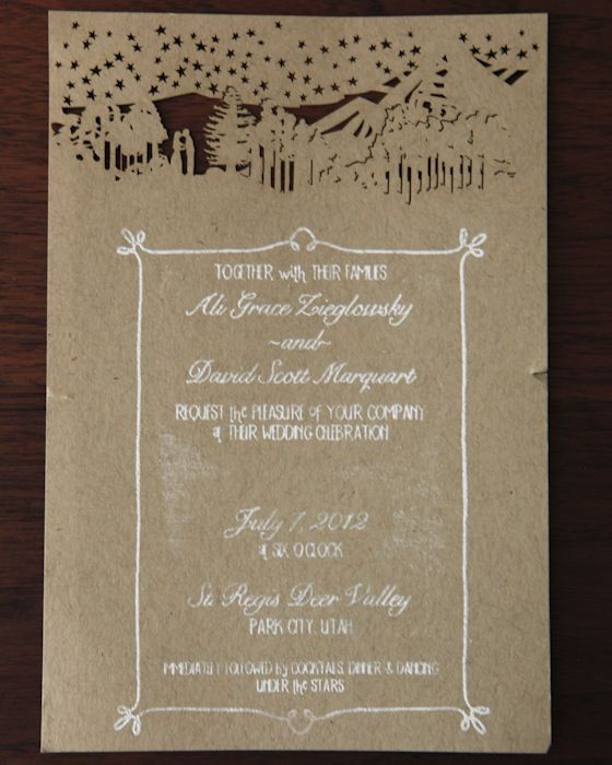 Rustic Wedding Invitation Fonts: New Rustic Wedding Invitation Trends