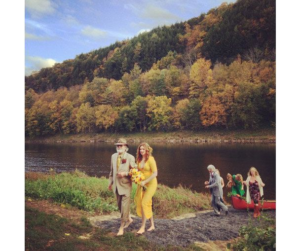 Amber Tamblyn Wedding