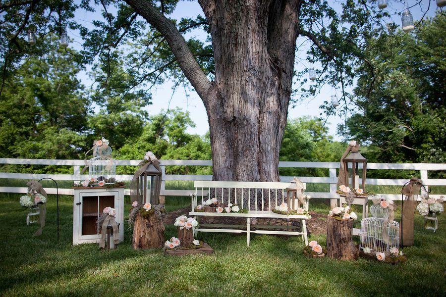A vintage rustic farm wedding