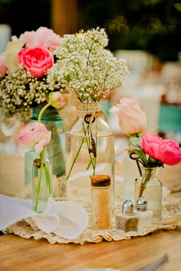 Vintage Wedding Flowers At Vintage Wedding