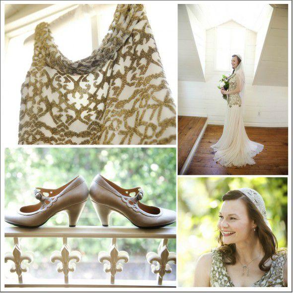 Lavender & Gold Wedding Theme