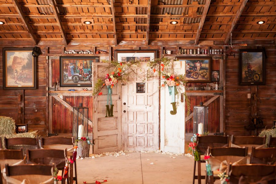 Vintage country wedding decorations